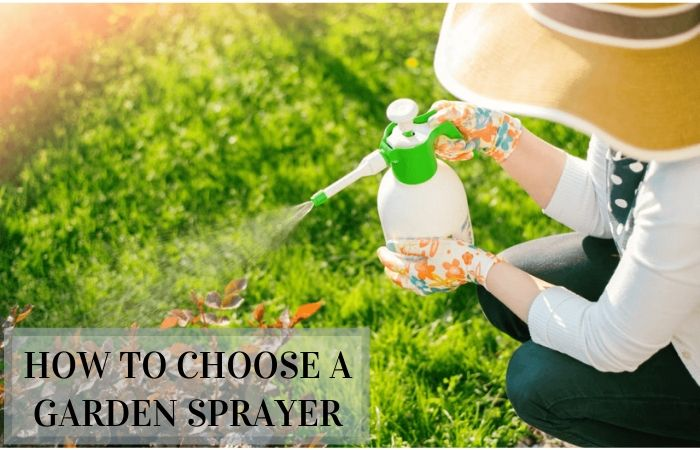 How to Choose a Garden Sprayer